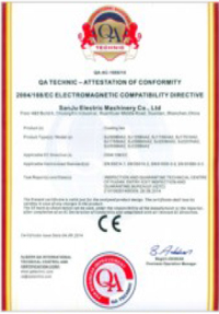 SanJu motors-ce certification