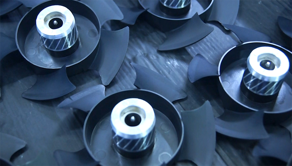 Taiwan's San Jus-the production process video of cooling fan blades